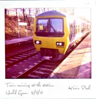 Polaroid-train